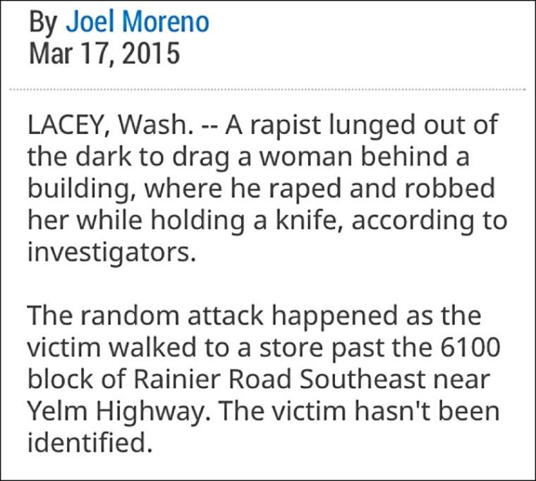 lacey rape