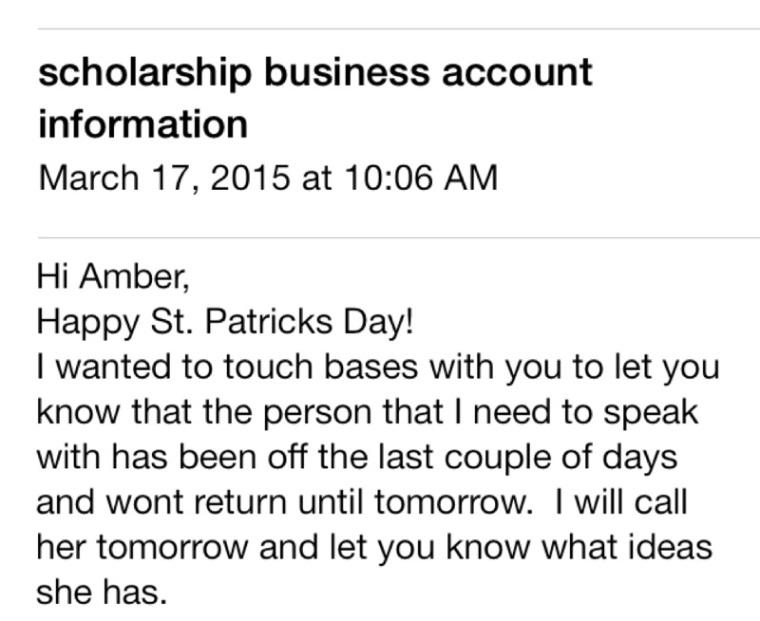 scholarhsip email