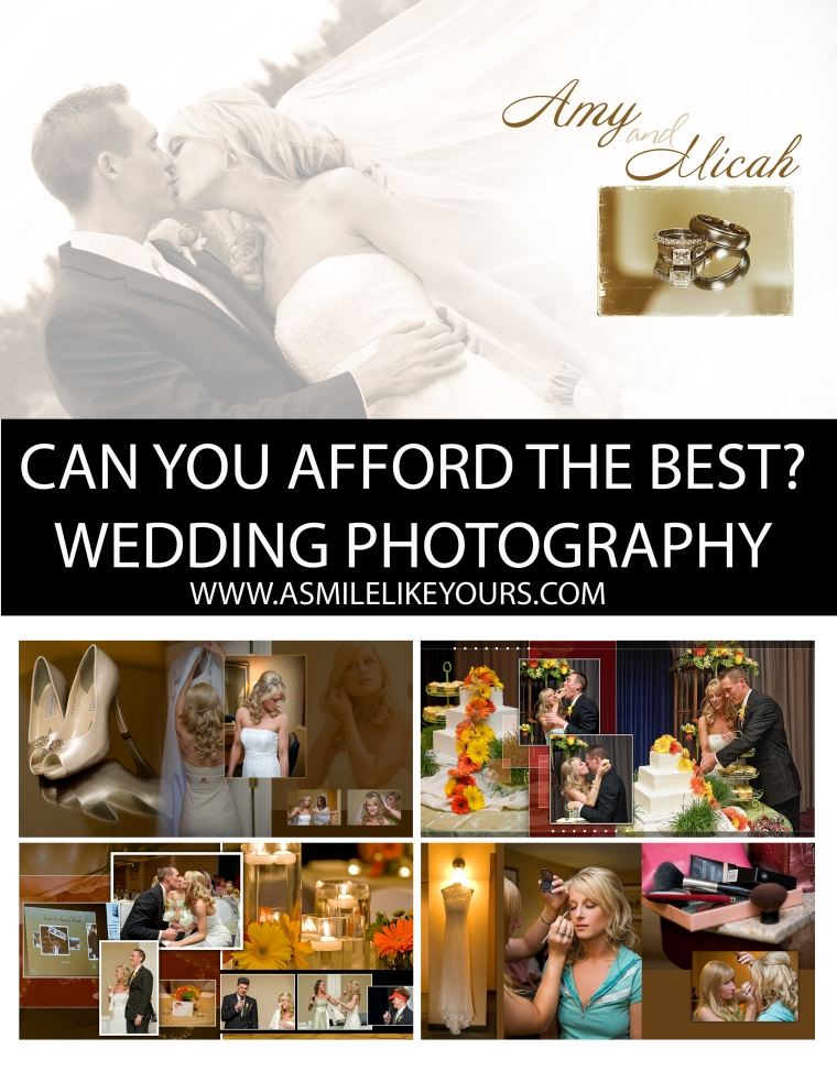 WEDDING PROMO CAN YOU AFFORD PHOTOGRAPHY